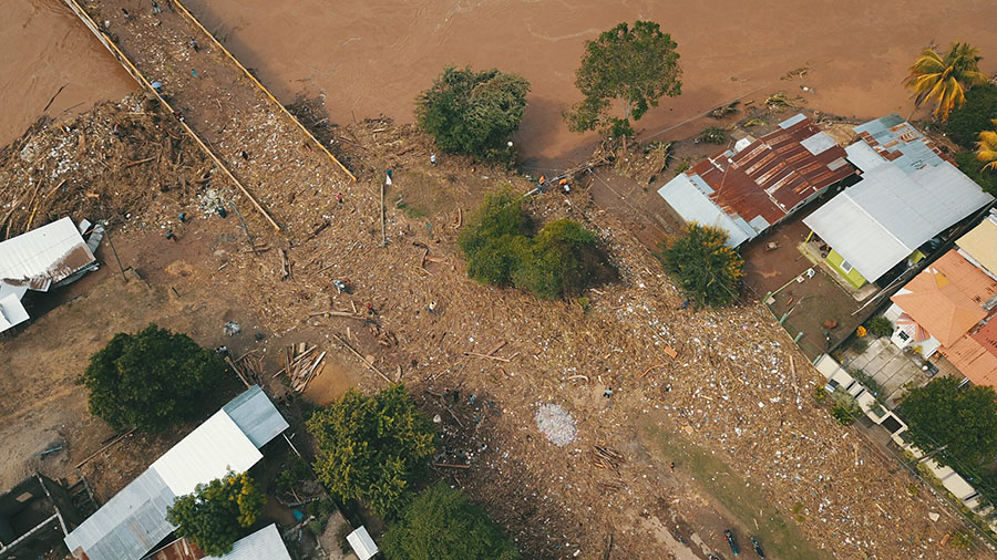 Hurricane Eta hit Honduras Nov. 3, ripping apart roads and bridges and causing massive landslides and major flooding before moving across Central America and the Caribbean. More than 3 million people in the region have been impacted, with Honduras experiencing the most severe impacts.