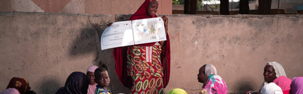 """<p style=""""margin-left:0in""""><span style=""""font-size:12px""""><span style=""""color:black"""">Women on the Move is a CARE regional strategy to mobilize savings groups in West Africa, so that women and girls can assert their basic economic and social rights. Evidence has shown that women-led savings groups are a powerful platform for promoting women&rsquo;s economic empowerment, women&rsquo;s voices and gender equality. </span></span></p>  <p style=""""margin-left:0in""""><span style=""""font-size:12px""""><span style=""""color:black"""">The Women on the Move Impact Growth Strategy for West Africa and Women Lead in Emergencies have a shared goal of increasing women&rsquo;s collective voice and action, wich is that 8 million women and girls between the age of 15 and 64 will be economically and socially empowered through savings groups by 2020.</span></span></p>"""