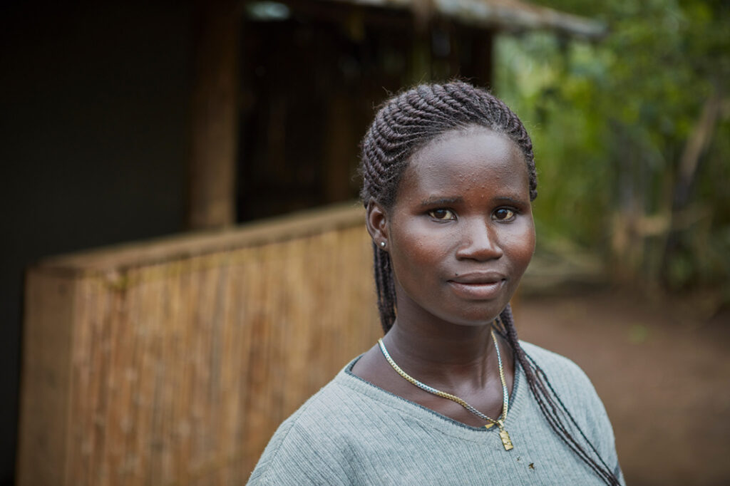 Rehema lives in Uganda and draws on her personal experiences to support refugee survivors of sexual and gender-based violence
