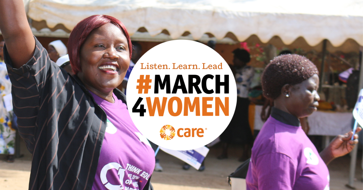 This March, join CARE as we listen, learn from and amplify the voices of women leaders in Canada and around the world. Make #March4Women.