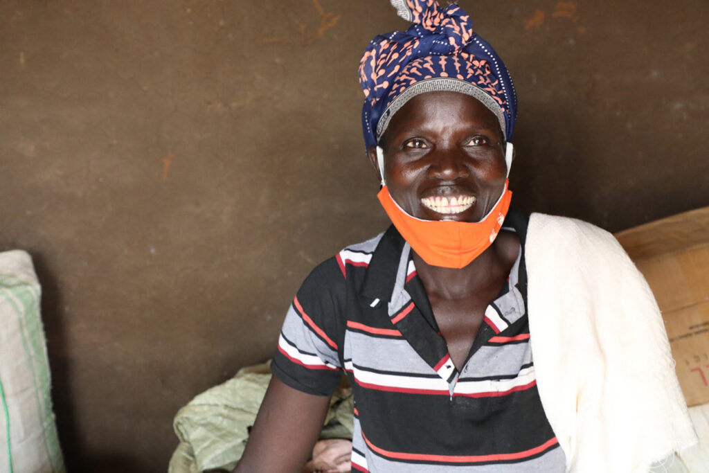 Turpaina Nyoka fled the conflict in South Sudan in May 2018 together with her seven children and was resettled in Uganda's Rhino Camp Settlement, Terego District. She shares her story