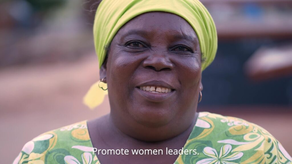 Video: The world is better when she leads too