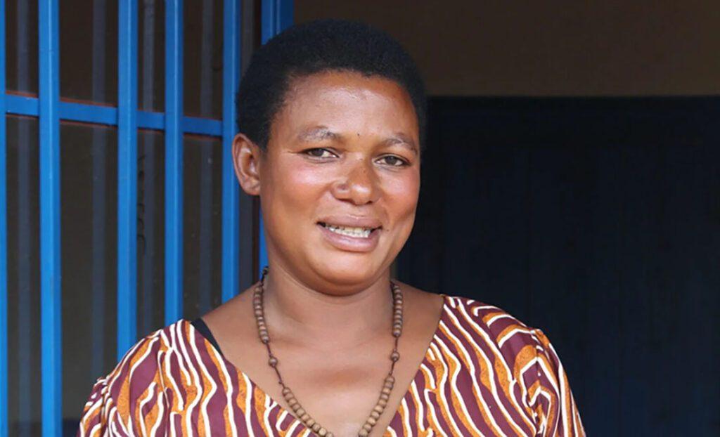 Sylvie Twagirayezu. Photo: CARE Burundi