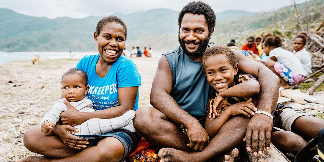 Caught in a cyclone in Vanuatu by Valerie Fernandez/CARE