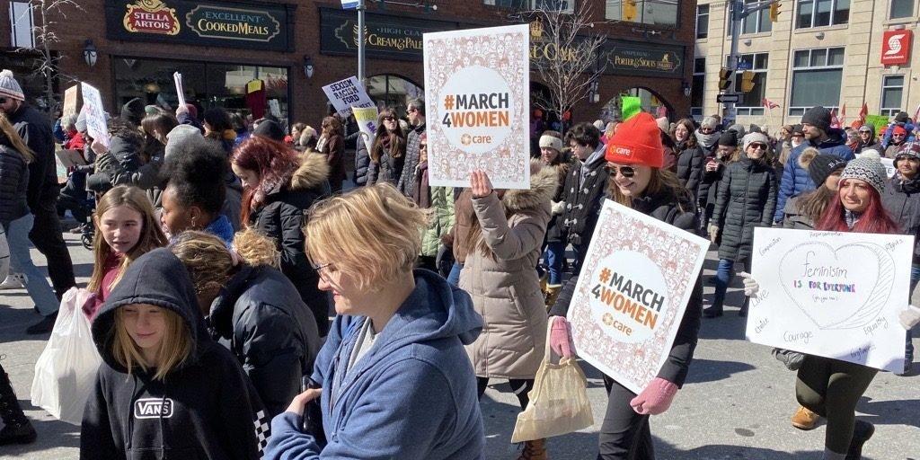 Ottawa Women's March, March 7 2020