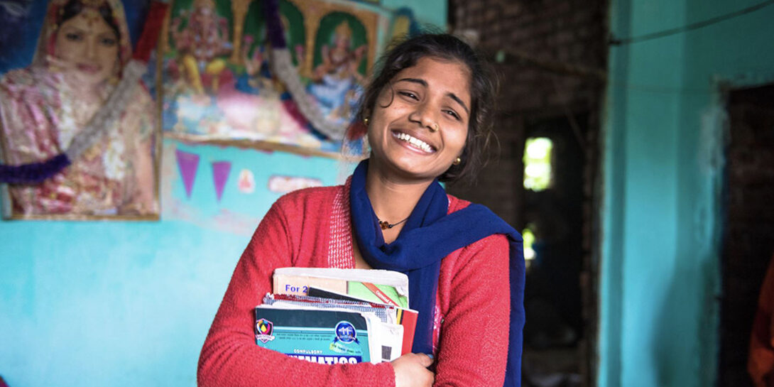 Priyanka is the president of the Buddha Girls Club, which promotes girls' leadership and athletics in her school and is part of a larger project designed to prevent child marriage in Thumuhawa Piparahawa, Nepal.
