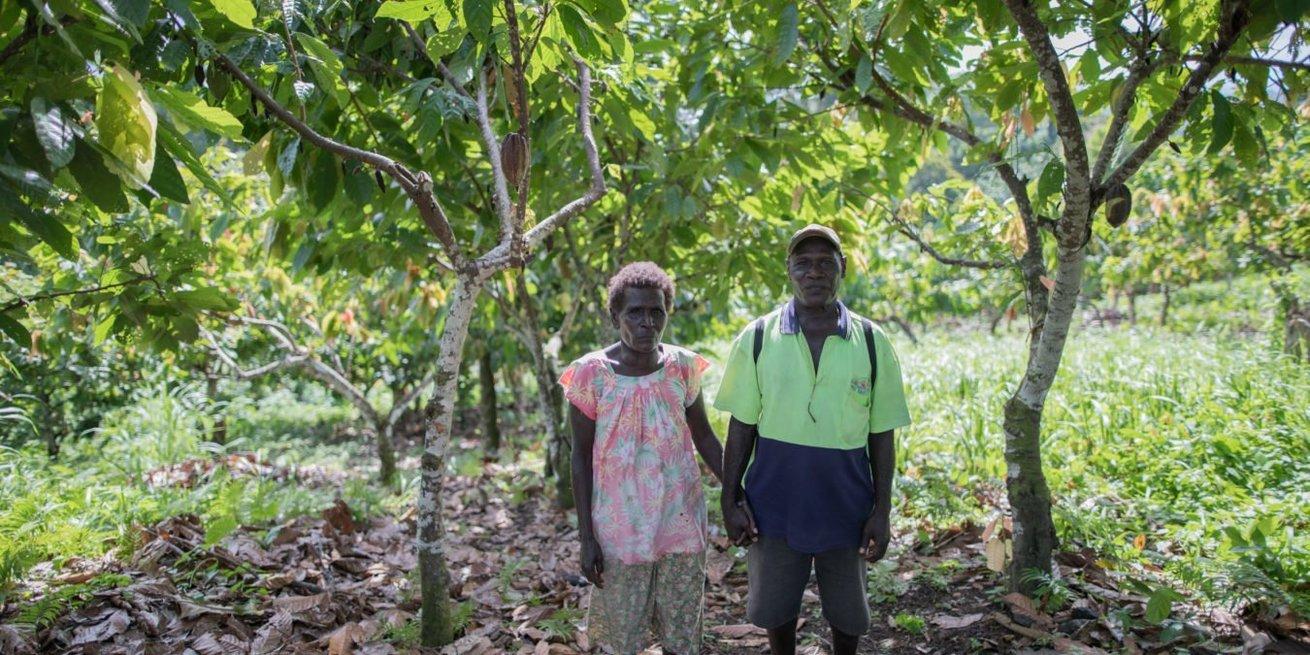 William and Martha from Kukurina, Papua New Guinea