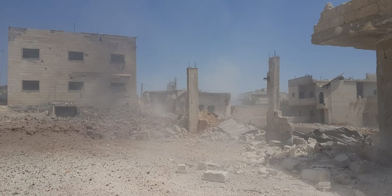 Damaged Health Facility Syria