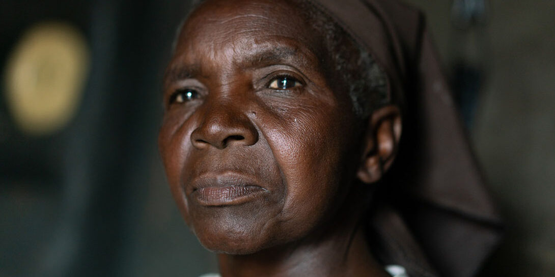 Kindness of spirit in Zimbabwe, a photograph of Esther By Lucy Beck/CARE