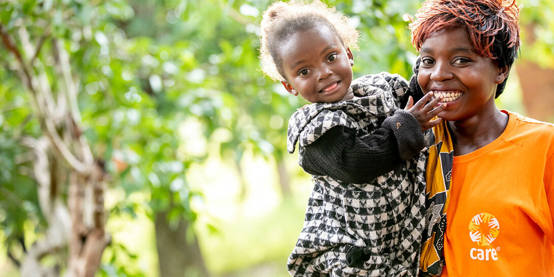 A reason to smile in Zambia with  By Karin Schermbrucker/CARE