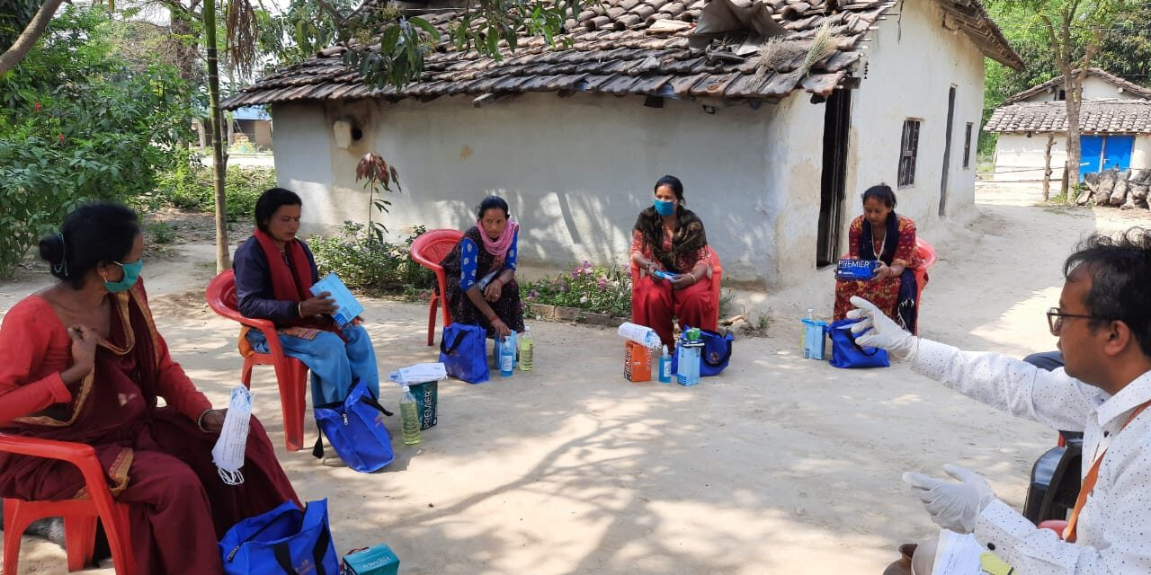 <p>CARE Nepal is committed in supporting vulnerable households in communities within our operations. As a part of the same, home quarantine kits were distributed to 46 most vulnerable households in Krishnapur Rural Municipality, Kanchanpur in coordination with the local level authorities.</p>